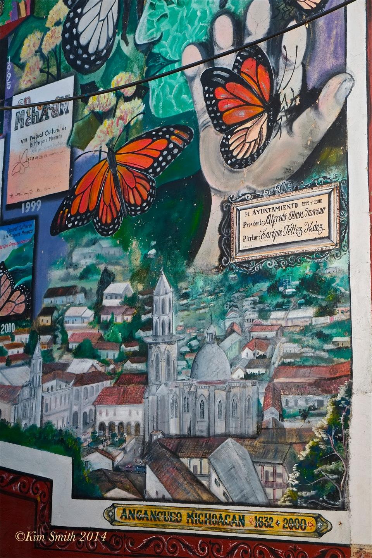 Mural Angangueo Mexico ©Kim Smith 2014