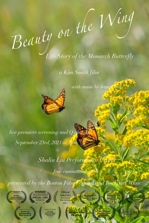 Beauty on the Wing Poster 24 x 36 at the Shalin Lui